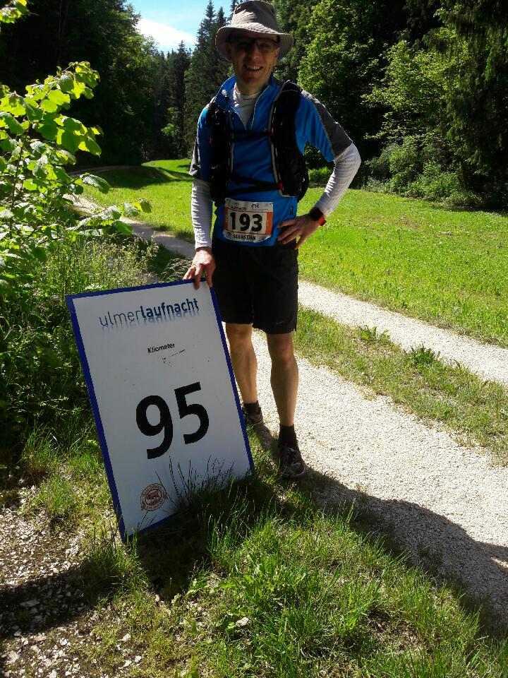 Nur noch 5 km ins Ziel!